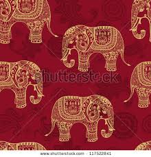 Indian Style - indian pattern stock images royalty free images vectors