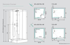 Shower Door Width Standard Shower Stall Door Width Shower Doors