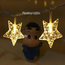 battery operated porch lights 24 led flashing porch light five ponited star string fairy lights