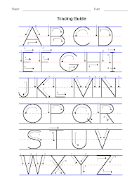 basic handwriting for kids manuscript letters of the alphabet