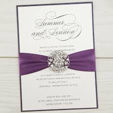 wedding invitations with pictures violet parcel invitation wedding invites
