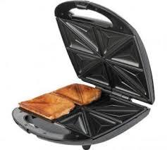 Argos Toasters 2 Slice Cookworks 4 Slice Sandwich Toaster Stainless Steel 423 7288