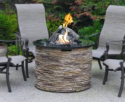 Patio Fire Pit Table Patio Ideas Outdoor Fire Pit Tables Propane Image Of Propane