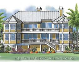 22 best golf waterfront house plans the sater design collection