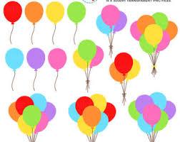 palloncini clipart palloncino di clipart etsy
