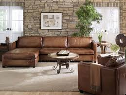 Leather Chaise Sofa Arizona Leather Sectional Sofa With Chaise Top Grain Aniline