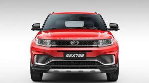 land wind x7 chinese clone of range rover evoque gets a facelift looks a