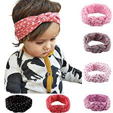 baby girl hair bows 6pcs baby girl turban headband hair bows cross knot hair