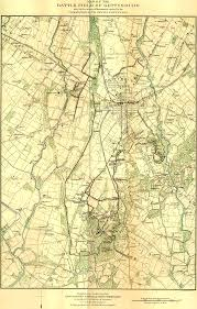 Maps Of Pa Maps Of The Field Of Gettysburg