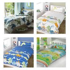Dinosaur Double Duvet Dinosaur Design Single Duvet Cover Sets Boys Bedding Bedroom Ebay