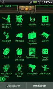 pipboy android pipboy 3000 fallout 3 theme 1 0 apk for android aptoide
