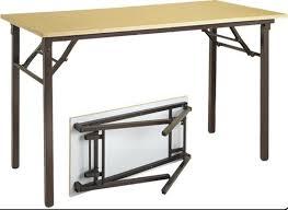 metal folding table outdoor metal folding table at rs 6500 piece goregaon west mumbai id