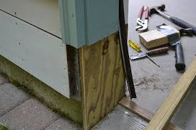 How To Replace Exterior Door Frame The Bottom Of Door Frames Can Frequently Become Checked And Rotted