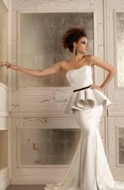 classic wedding dresses for the traditional bride peplum wedding
