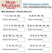 find the median worksheet free worksheets library download and