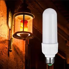 led flame effect fire light bulbs e27 e26 2835 led flame effect fire light bulbs 5w creative