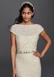 Wedding Dresses David S Bridal Dress For Winter Wedding Monique Lhuillier40 Winter Wedding Gowns