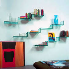 floating glass shelf decor home decorations floating glass