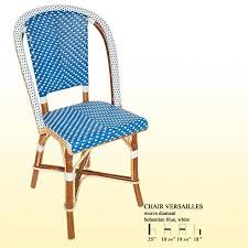Turquoise Bistro Chair Original Handmade French Bistro Chair By Maison Gatti In Bohemian