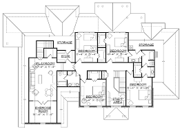 house plans 6 bedrooms stunning 9 house plan six bedroom 7752