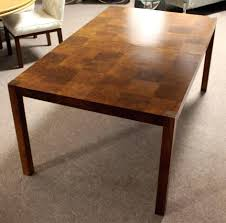 Ideas For Expanding Dining Tables Expandable Dining Table Mid Century Modern Burled Walnut