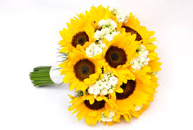 Sunflower Wedding Bouquet Flowerandballooncompany Com Blog Archive Sunflower Bridal Bouquet