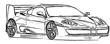 ferrari cars f50 sketch colouring colouring tube