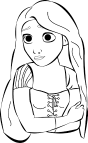 tangled coloring pages wecoloringpage