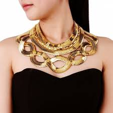 gold chain bib necklace images Jerollin official store small orders online store hot selling jpg