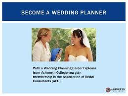 wedding planner career destination wedding planning ashworth college