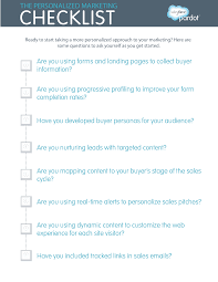 the all you need to know personalized marketing wrap up checklist