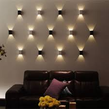 contemporary lighting ideas contemporary wall lights 3w modern led wall light wall sconces l 85 265v cubic body up