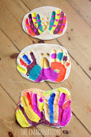 salt dough hand print butterfly keepsake the imagination tree