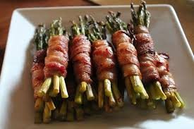 bacon wrapped asparagus recipe on food52
