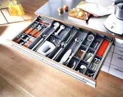 kitchen cabinet knife drawer organizers kitchen knife drawer organizer tidy bamboo drawer knife storage tray
