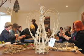 willow christmas decorations humble by nature wye valley wales