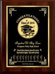 graduation plaque the road to happiness personalized graduation plaque brass