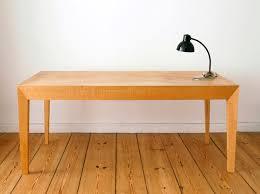table bureau bois morgenstern et hertling archive table de bureau bois massif