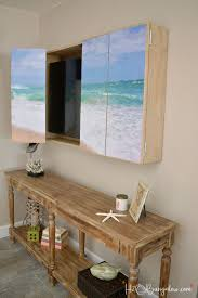 how to build a tv cabinet free plans diy wall mounted tv cabinet with free plans mounted tv diy wall