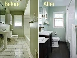 Basement Bathroom Renovation Ideas Before And After Bathroom Remodel Pictures Bath Before After