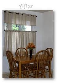 Grommet Burlap Curtains Burlap Cafe Curtains They U0027re Inexpensive And They Let In The
