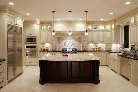 Large Kitchen With Island Large Kitchen Layouts Exprimartdesign