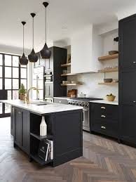 Black Kitchen Cabinets Our 25 Best Transitional Kitchen Ideas Houzz