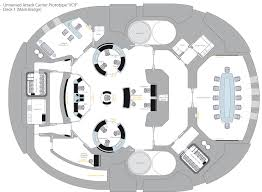 Starship Floor Plan Uss Enterprise Star Trek Uncharted