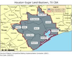 houston louisiana map cbic 2 competitive bidding area houston sugar land