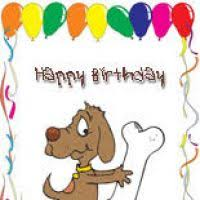 free printable dog birthday cards ktrdecor com