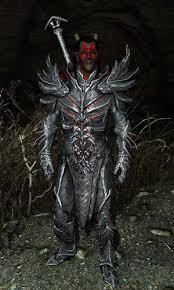 Skyrim Halloween Costume Dremora Lord Skyrim Elder Scrolls Fandom Powered Wikia