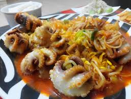stir fried spicy baby octopus jjukkumi bokkum u2013 korean food at