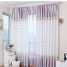 Polka Dot Curtains Blue And Polka Dot Curtains Decorate Your House