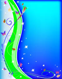 free blank book with flowers and butterflies backgrounds for